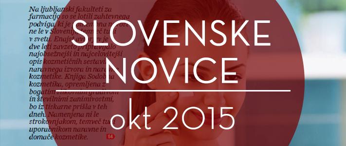 Slovenske novice, priloga Na zdravje, oktober 2015