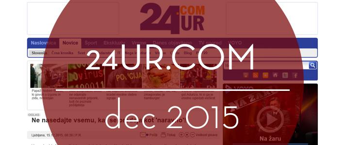 24ur.com, december 2015